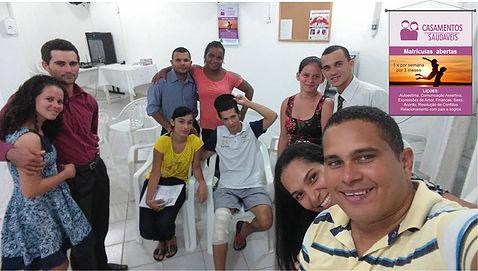 Turma da Assembleia de Deus em Linhares